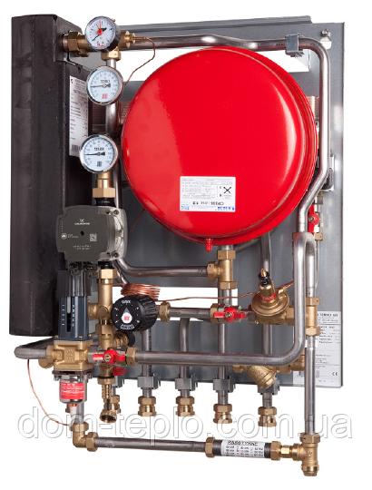 Квартирный тепловой пункт для независимого отопления и ГВС DanfossTermix VVX-B 2-1