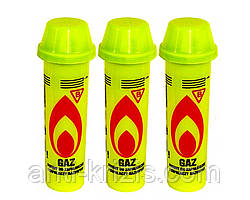 Газ для зажигалок очищенный (Желтый) 90 мл.