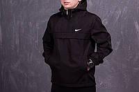 Сине-черный мужской анорак Nike (куртка, ветровка)