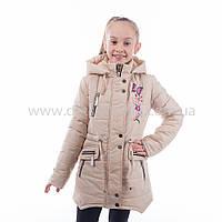 """Детская  куртка  демисезонная для девочки """"Берта"""" с капюшоном,новинка 2017года"""