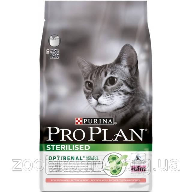 Купить Корм Pro Plan Про План для стерилизованных кошек с лососем