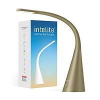 Лампа настольная светодиодная Intelite, LED светильник DL4-5W-BR