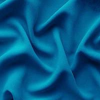 Ткань креп - шифон - цвет голубой