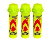 Газ для заправки зажигалок очищенный Польша (Желтый) 90 мл.