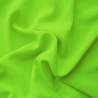 Ткань креп - шифон - цвет лимонный