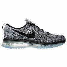 "Мужские кроссовки  Nike Air Max Flyknit 2015 ""Black/White/Oreo"""