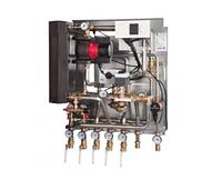 Квартирный тепловой пункт для независимого отопления и ГВС DanfossTermix VVX Compact 28