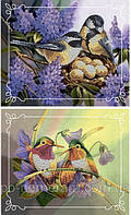 Набор для вышивки бисером Пара птиц №3 (две картины) ВБ2002