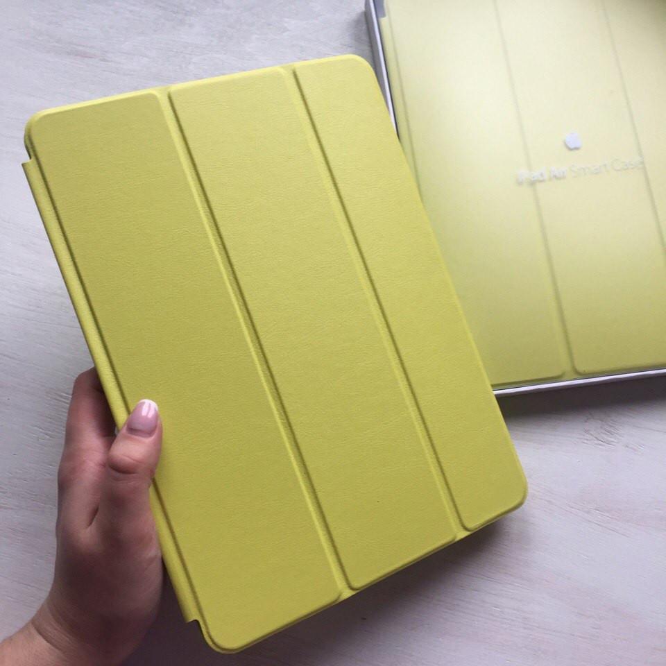 Зеленый кожаный чехол Smart Case для iPad Air