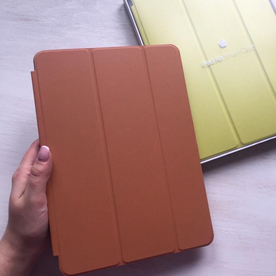 Коричневый кожаный чехол Smart Case для iPad Air