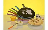 Блинная сковорода, Сковорода для блинов GRANCHIO CREPE Cow milk