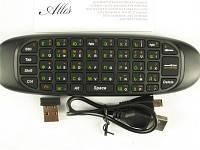 Пульт для телевизора с клавиатурой Rii mini i9 RT-MWK9, Black, Airmouse