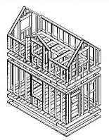 Виды каркасных конструкций