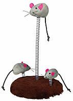 Trixie  TX-4070 мышиная семья -игрушка для кошки