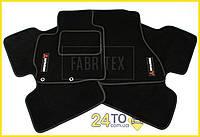 Ворсовые коврики Mitsubishi ASX (2010-…), Полный комплект, (хорошее качество), Митсубиси АСХ