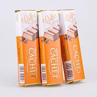 Батончик Cachet молочный шоколад с кофейной начинкой, 75 г