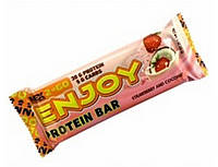 Enjoy Protein Bar 85 g strawberry and coconut