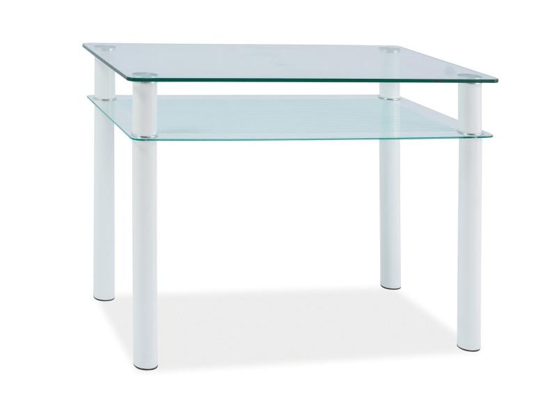 Стеклянный стол Sono 80*60 (Signal)