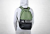Новинка !!!! Рюкзак спортивный Adidas-Black/Khaki / адидас