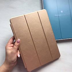 Кожаный золотистый чехол Smart Case для iPad Air 2