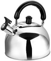 Чайник со свистком 3.0 литра нержавеющая сталь