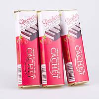Батончик Cachet черный шоколад с малиновой начинкой, 75 г