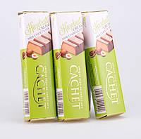 Батончик Cachet молочный шоколад с ореховой начинкой, 75 г