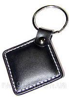 Кожаный брелок заготовка для домофонна Т5577 кожаный