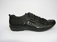 Кроссовки  мужские кожаные Artos 51 черные