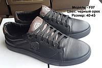 Кожаные мужские туфли от производителя F07