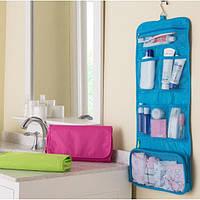 Органайзер для вещей для ванной подвесной, кофр для вещей в ванную на стену