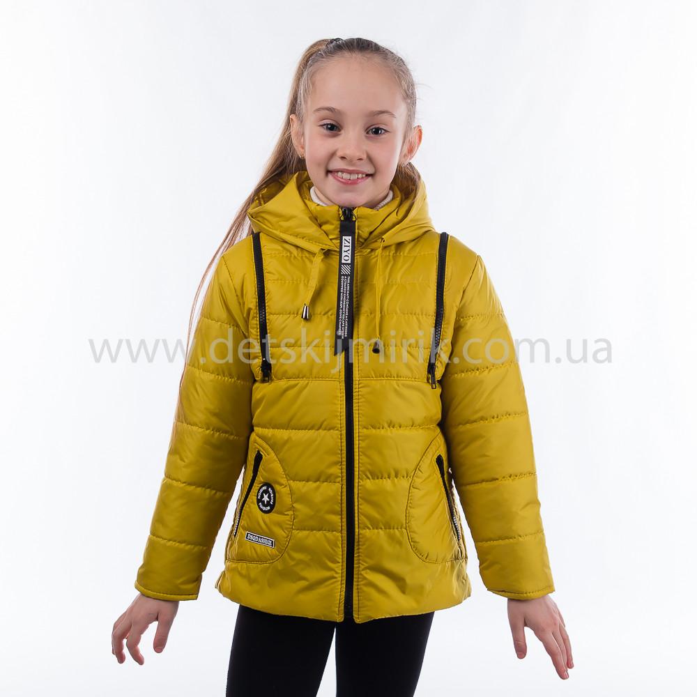 Детская куртка-жилет демисезонная для девочки