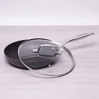 Сковорода Kamille 28см с тефлоновым покрытием и крышкой