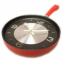 Настенные часы-сковородка , фото 1