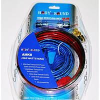 Набор проводов для усилителя / сабвуфера 800W. Высокое качество. Практичный набор. Купить онлайн. Код: КДН1560