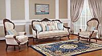 """Классический комплект мягкой мебели диван и кресла """"Айвенго"""""""