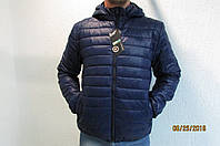 Мужская спортивная куртка Remain 70310 синяя  код 245б