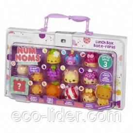 Набор ароматных игрушек NUM NOMS S3 - ЛАНЧ-БОКС (10 намов, 2 нома, с аксессуарами)