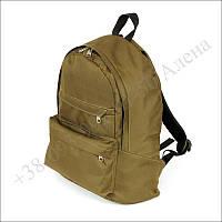 Городской рюкзак 25 литров койот для военных, армии, учёбы нейлон