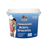 "Шпаклевка ""ACRYL SPACHTEL"" (16 кг) Дюфа"