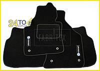 Ворсовые коврики Volkswagen Caddy (2004-…), Полный комплект, (хорошее качество), Фольксваген Кадди