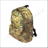 Городской рюкзак 25 литров мультикам для военных, армии, учёбы нейлон