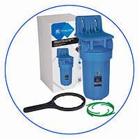 Aquafilter FH10B1-WB магистральный корпус фильтр Big Blue с монтажной пластиной и ключем