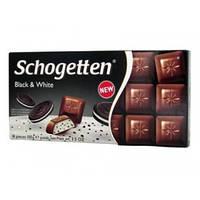 Шоколад Schogеtten Black&White 100 гр