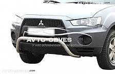 Кенгурятник подкова для Mitsubishi Outlander XL 2010-2012