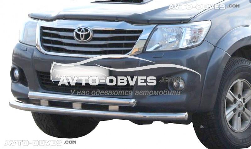 Защитный ус для Toyota Hilux 2012-2015