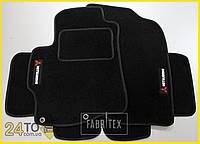 Ворсовые коврики Mitsubishi Lancer X, Полный комплект, (хорошее качество), Митсубиси Лансер 10
