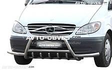 Защитная дуга Mercedes Vito / Viano с дополнительными усами