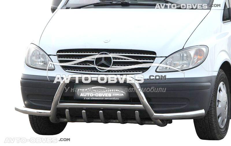 Защитная дуга для Mercedes Vito / Viano с дополнительными усами