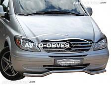 Кенгурятник изогнутый ус для Mercedes Vito / Viano